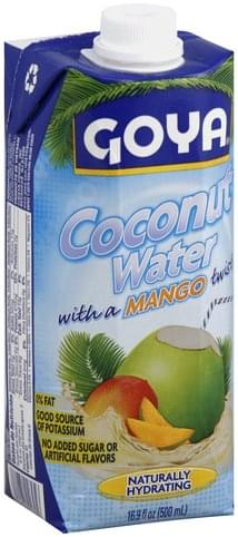 Goya with a Mango Twist Coconut Water - 16.9 oz