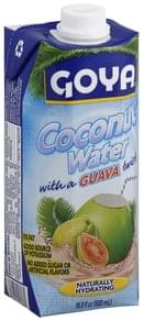 Goya Coconut Water with a Guava Twist