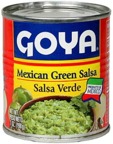 Goya Mexican Green Salsa - 7 oz