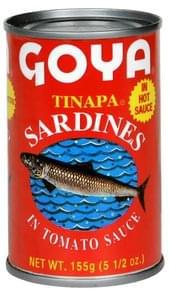 Goya Sardines in Tomato Sauce, in Hot Sauce