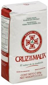 Cruz De Malta Herbal Tea Traditional Yerba Mate