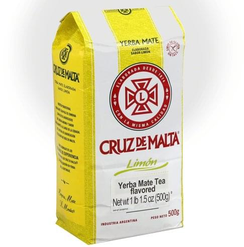 Cruz De Malta Yerba Mate, Flavored Tea - 17.5 oz