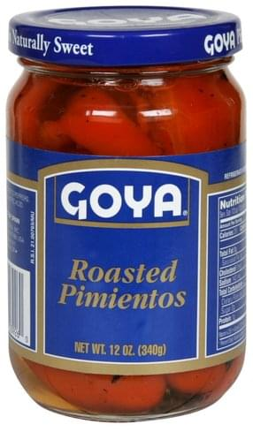 Goya Roasted Pimientos - 12 oz