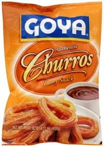 Goya Pastry Snack Churros, Authentic