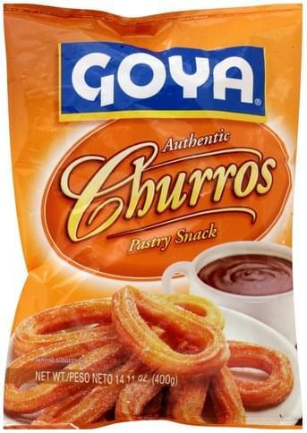 Goya Churros, Authentic Pastry Snack - 14.11 oz
