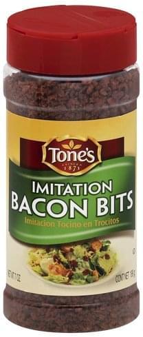 Tones Imitation Bacon Bits - 7 oz