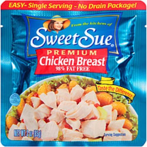 Sweet Sue Premium 98% Fat Free Chicken Breast - 3 oz