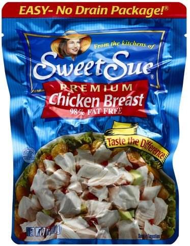 Sweet Sue Premium Chicken Breast - 7 oz