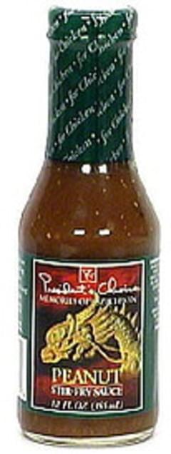Presidents Choice Peanut Stir-Fry Sauce