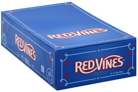 Red Vines Candy - 16 ea
