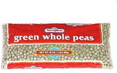 Springfield Green Whole Peas