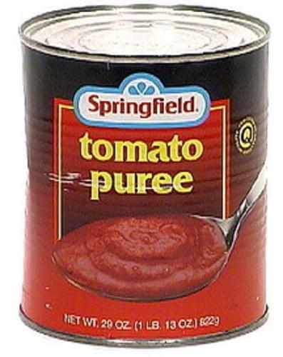 Springfield Tomato Puree - 29 oz