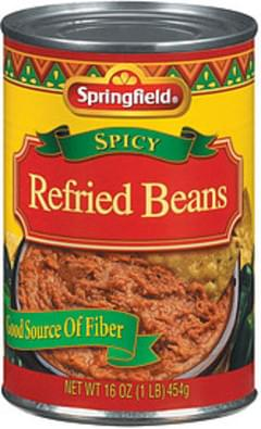 Springfield Refried Beans Spicy