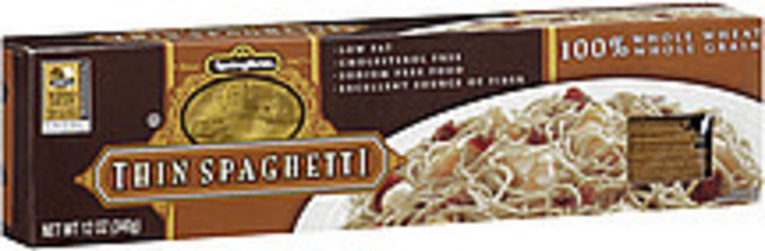 Springfield Thin Spaghetti Pasta - 12 oz