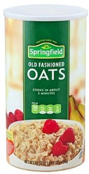 Springfield Old Fashioned Oats - 42 oz