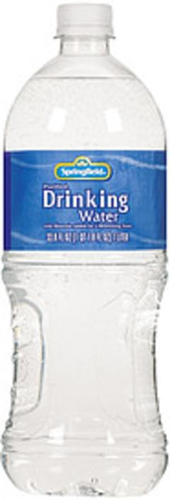 Springfield Water Drinking