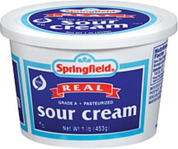 Springfield Sour Cream Real