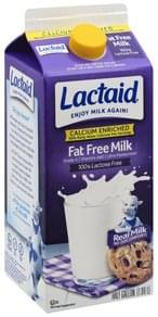 Lactaid Milk Fat Free