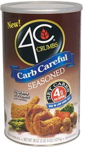 4C Seasoned Crumbs - 38 oz