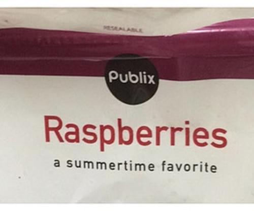 Publix Raspberries - 140 g