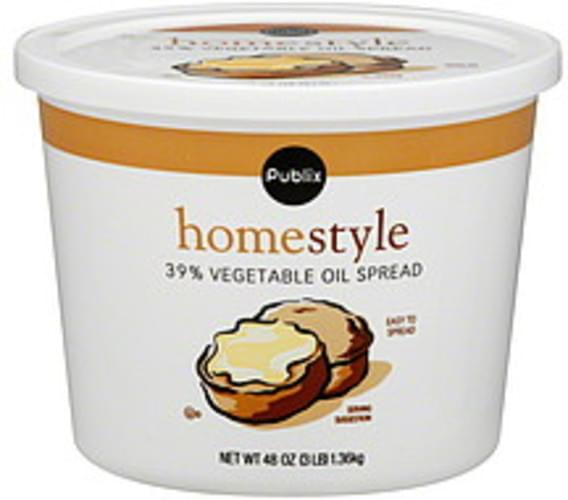 Publix Homestyle Vegetable Oil Spread - 48 oz