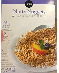 Publix Nutty Nuggets Wheat & Barley Cereal