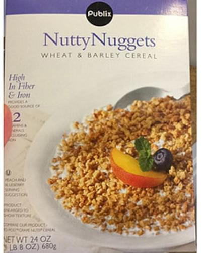 Publix Nutty Nuggets Wheat & Barley Cereal - 58 g