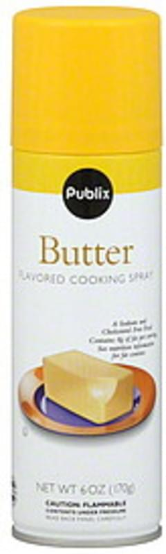 Publix Cooking Spray Butter