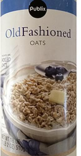 Publix Old Fashioned Oats - 40 g