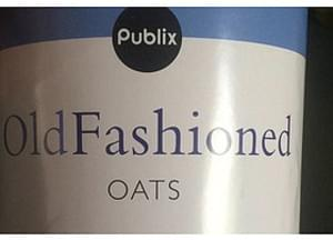 Publix Old Fashioned Oats