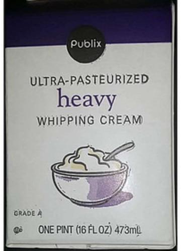 Publix Heavy Whipping Cream - 15 ml