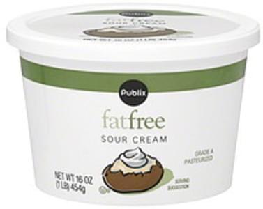Publix Sour Cream Fat Free