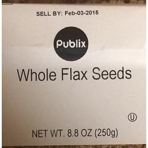 Publix Whole Flax Seeds