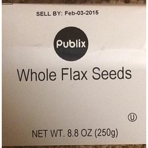 Publix Whole Flax Seeds - 30 g