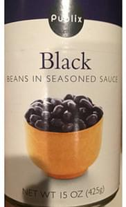 Publix Black Beans in Seasoned Sauce