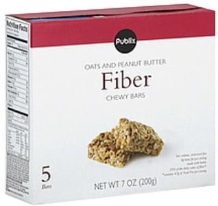 Publix Chewy Bars Fiber, Oats and Peanut Butter