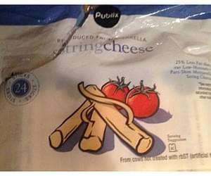 Publix Mozzarella String Cheese