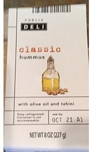 Publix Deli Classic Hummus