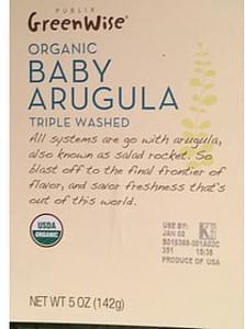 Publix GreenWise Market Organic Baby Arugula