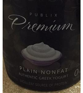 Publix Premium Plain Nonfat Greek Yogurt