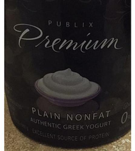 Publix Premium Plain Nonfat Greek Yogurt - 227 g