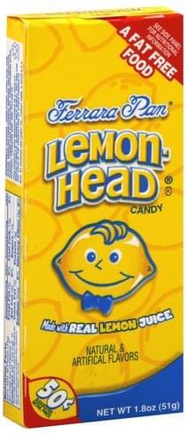 Lemonhead Candy - 1.8 oz