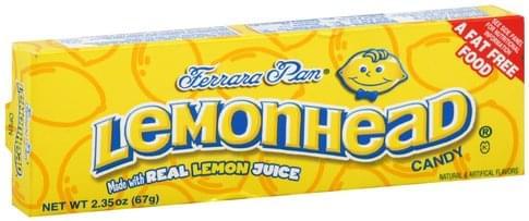 Lemonhead Candy - 2.35 oz