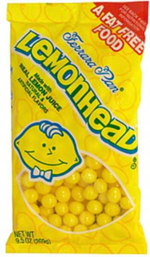 Lemonhead Candy - 9.5 oz