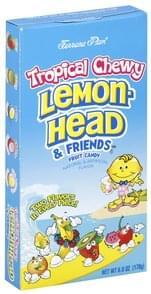 Lemonhead Variety Bag Candy - 64 ea, Nutrition Information