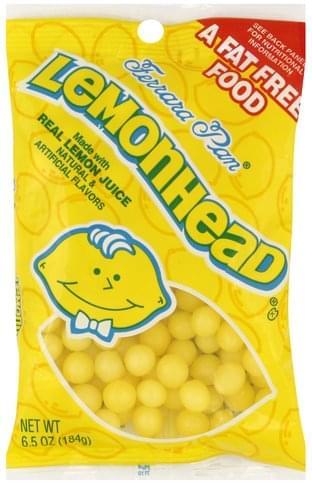 Lemonhead Candy - 6.5 oz