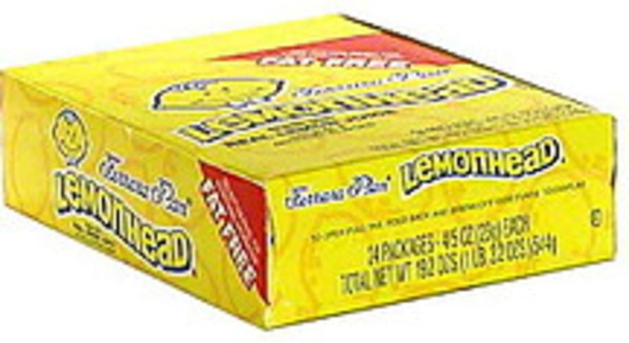 Lemonhead Candy - 24 ea, Nutrition Information | Innit