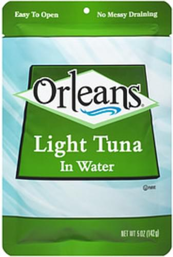 Orleans Light Tuna In Water - 5 oz