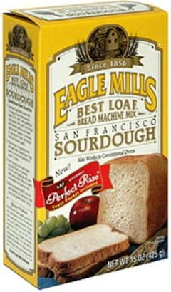 Eagle Mills San Francisco Sourdough Bread Machine Mix - 15 ...