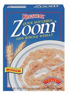 Krusteaz Hot Cereal Zoom 100% Whole Wheat Quick